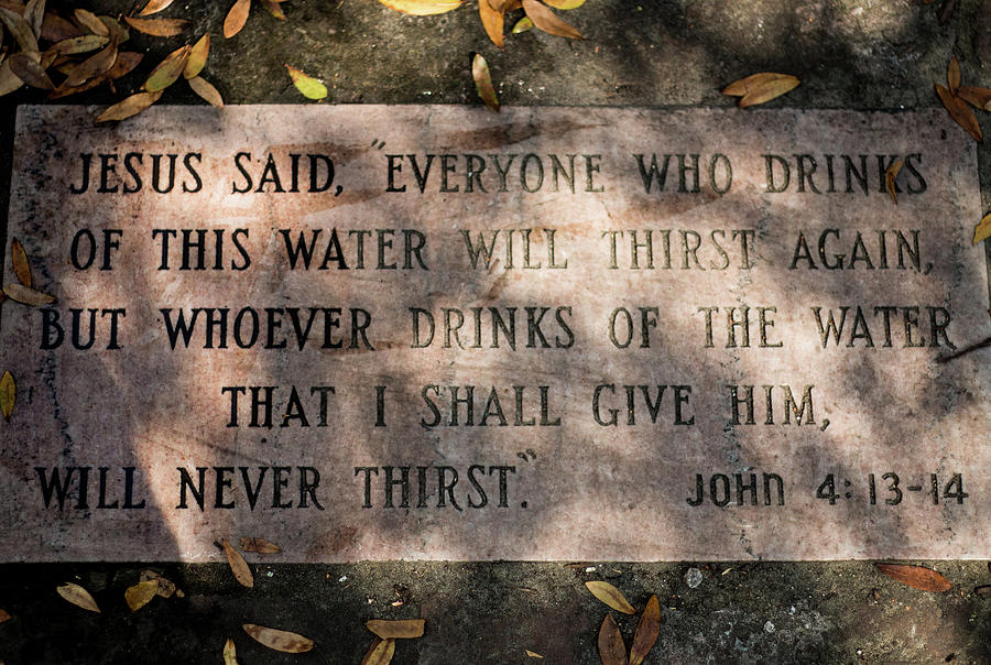 Never Thirst - John 4 by Susie Weaver