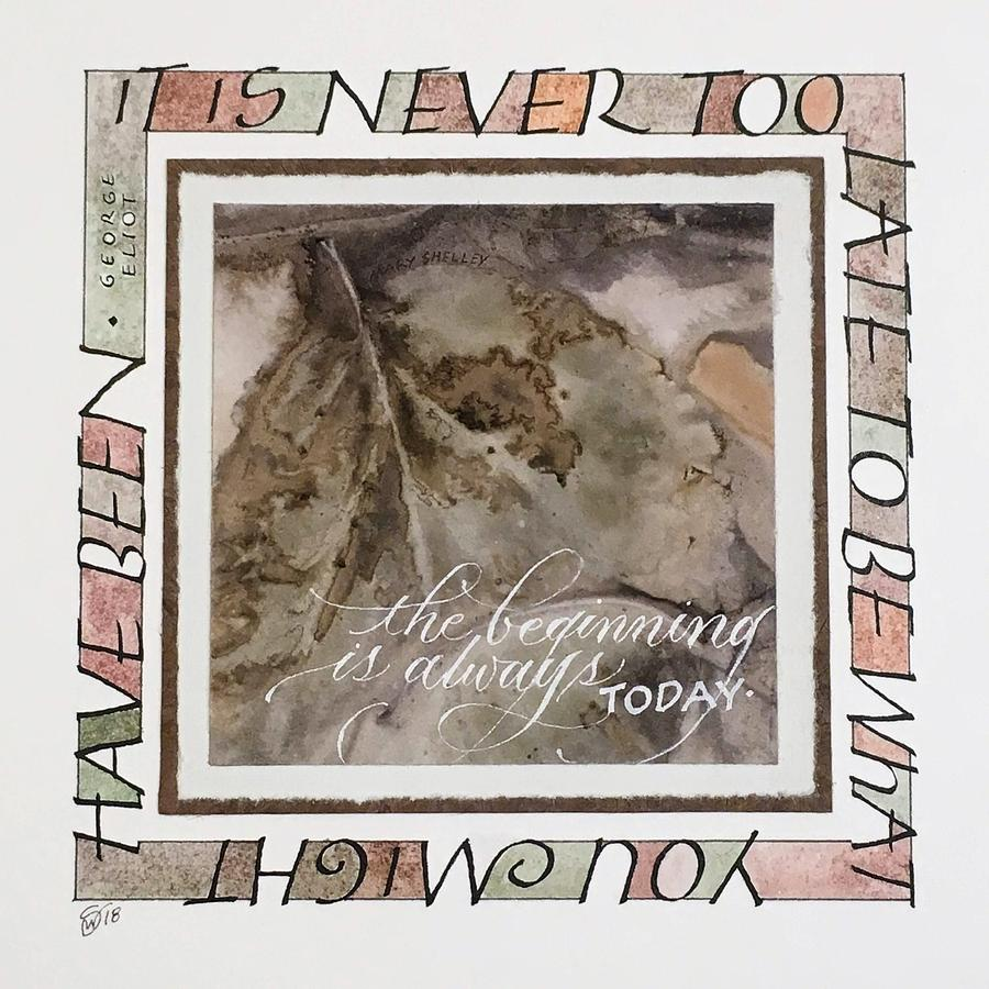 Never Too Late by Sally Wightkin