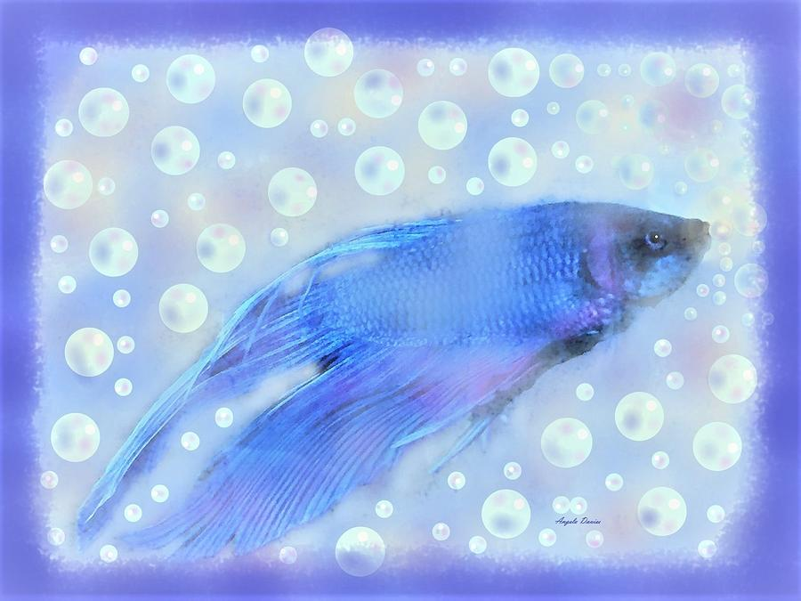 Never Too Old For Bubbles by Angela Davies