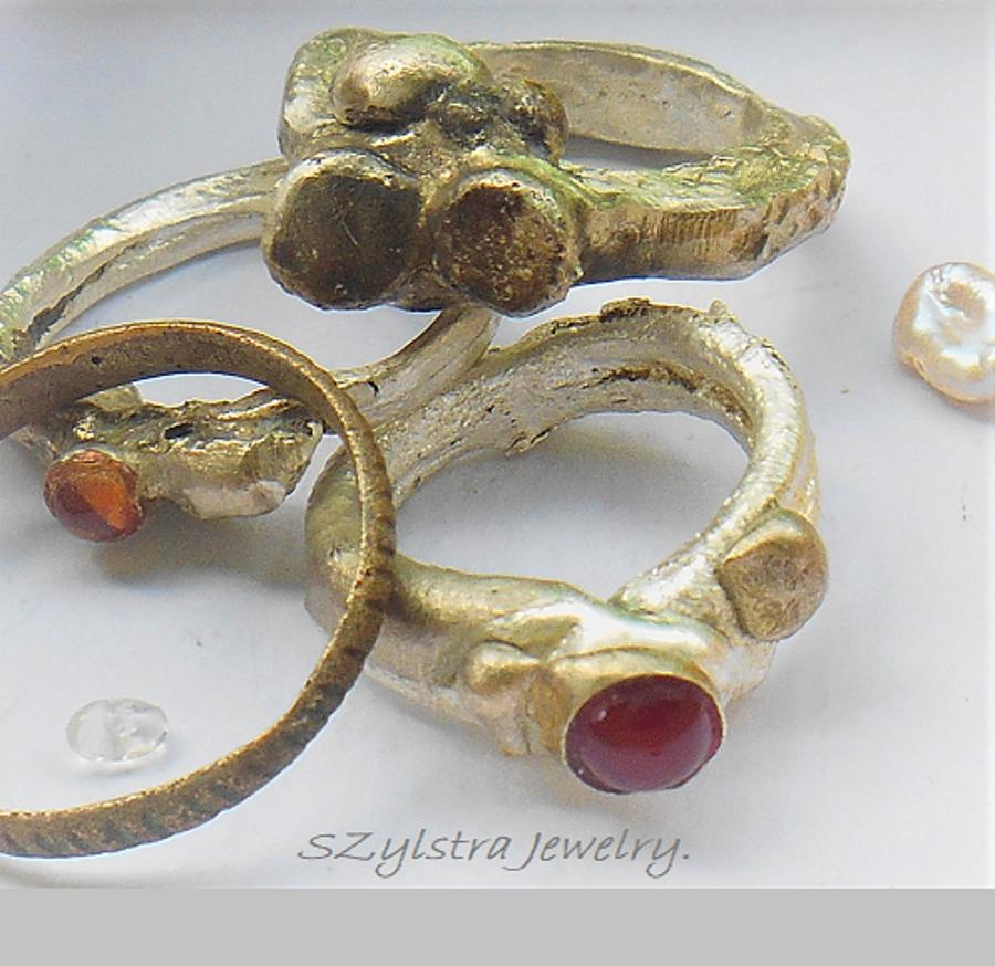 Ancient Roman Rings new and ancient