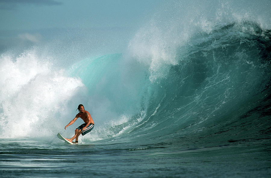 New Caledonia, Surfing On The Grand Photograph by John Seaton Callahan