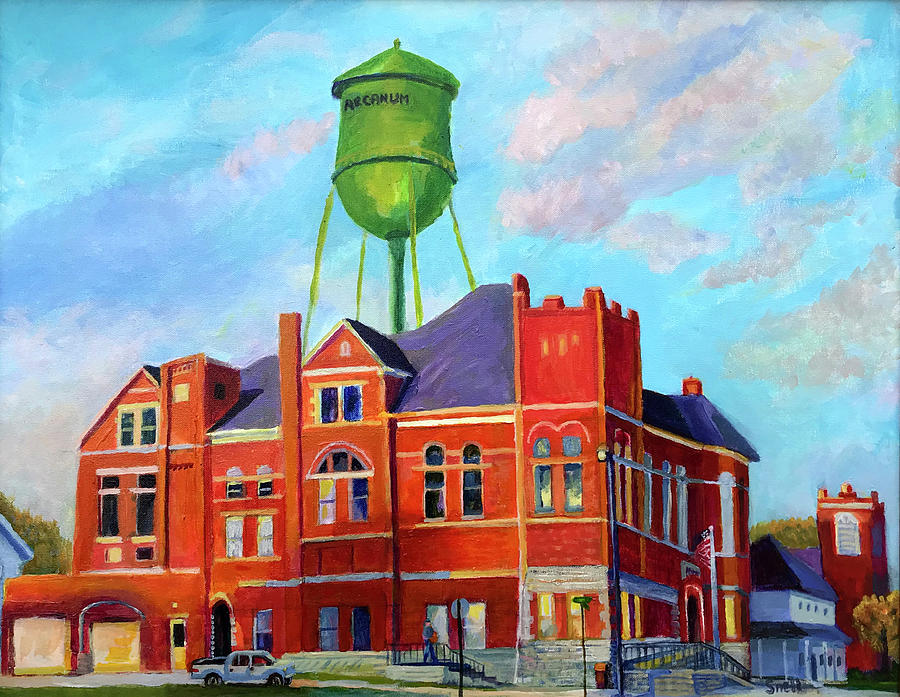 Arcanum Painting - New Day in Arcanum by Roger Snell