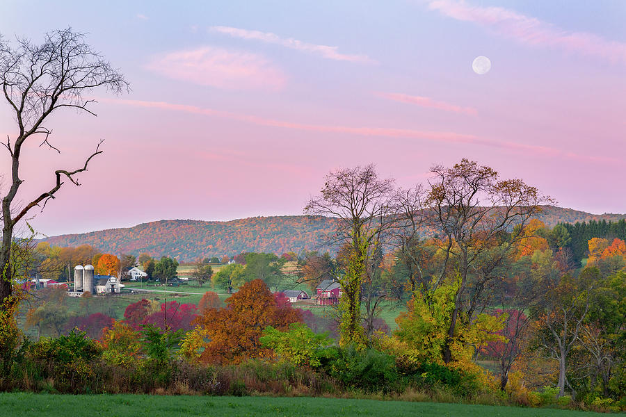 New England Country Autumn by Bill Wakeley