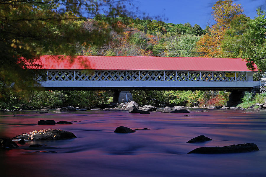 New England Covered Bridge by Juergen Roth