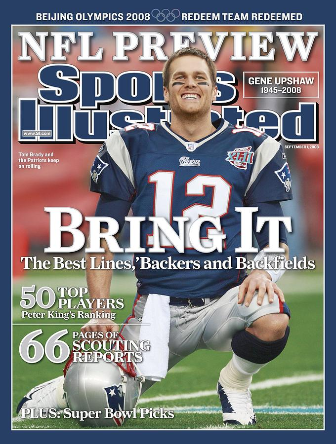 New England Patriots Qb Tom Brady, Super Bowl Xlii Sports Illustrated Cover Photograph by Sports Illustrated