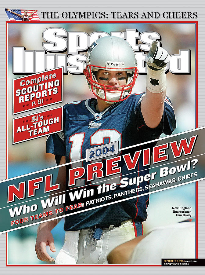 New England Patriots Quarterback Tom Brady, 2013 Nfl Sports Illustrated Cover Photograph by Sports Illustrated