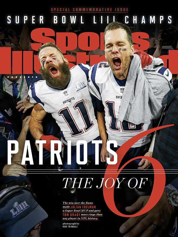 New England Patriots, Super Bowl Liii Champions Sports Illustrated Cover Photograph by Sports Illustrated