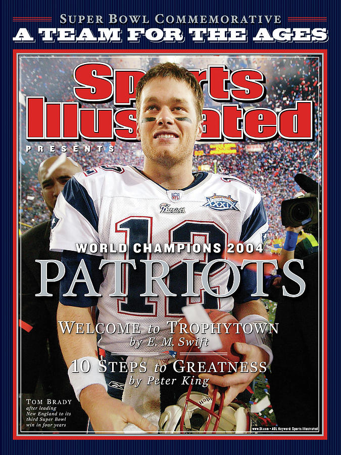 New England Patriots, Super Bowl Xxxix Champions Sports Illustrated Cover Photograph by Sports Illustrated
