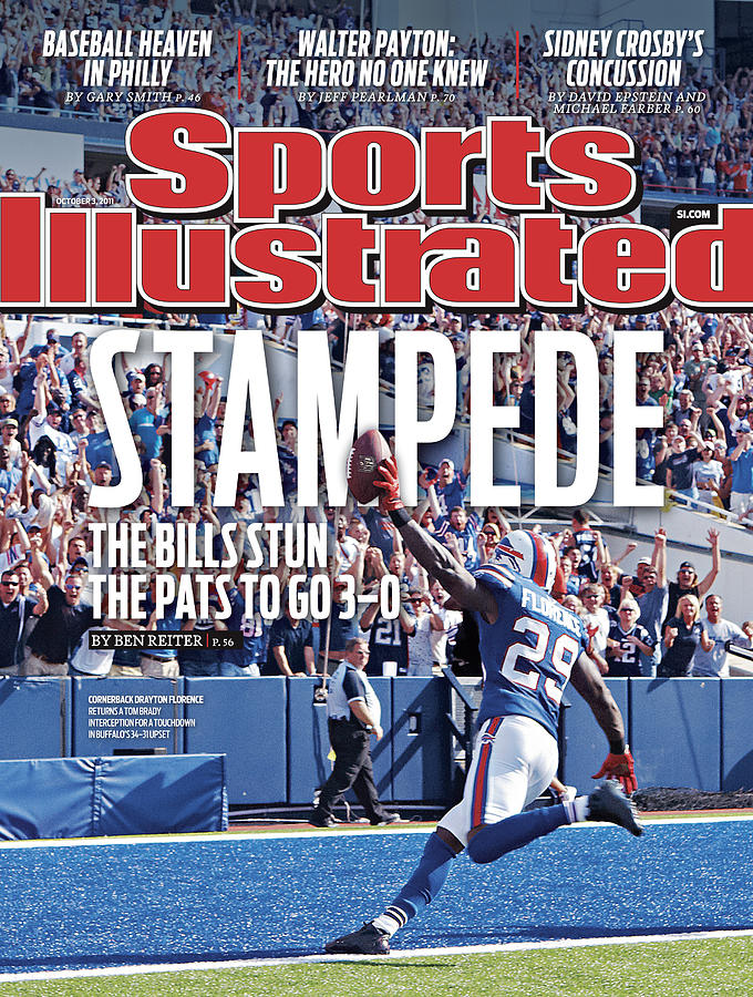 New England Patriots V Buffalo Bills Sports Illustrated Cover Photograph by Sports Illustrated