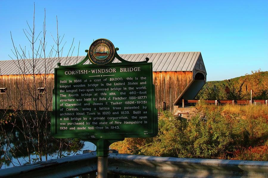New Englands longest covered bridge by Jeff Folger