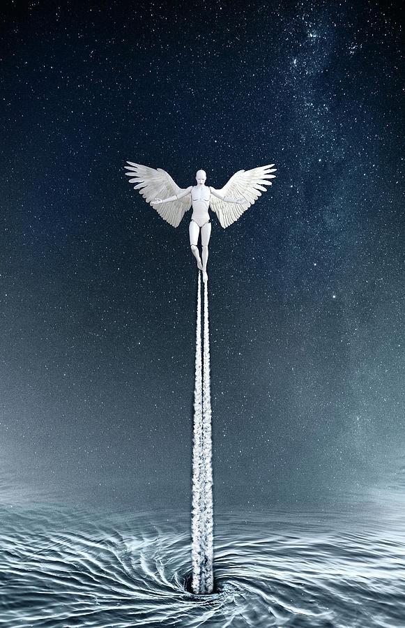 Angel Photograph - New Generation by Jacky Gerritsen
