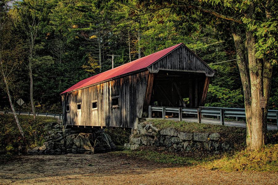 New Hampshire Covered Bridge 12 by Jeff Folger