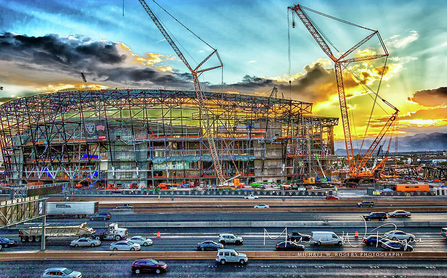 New Home for Las Vegas Raiders by Michael Rogers