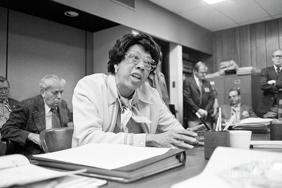 New Jersey Athletic Commissioner Althea Photograph by Bettmann