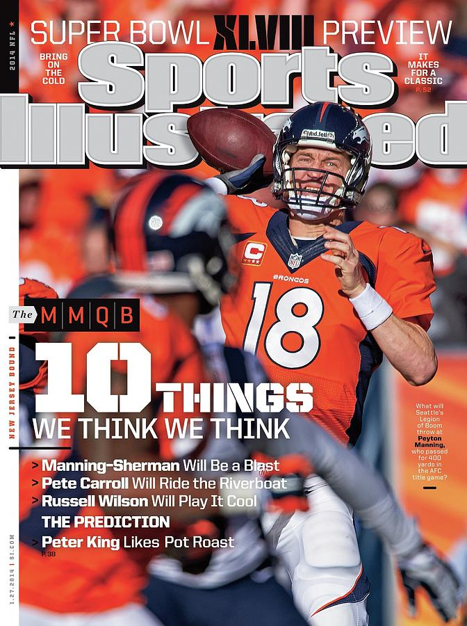 New Jersey Bound Super Bowl Xlviii Preview Issue Sports Illustrated Cover Photograph by Sports Illustrated