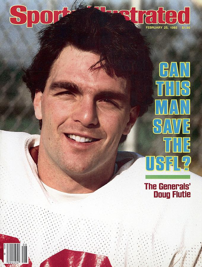 New Jersey Generals Qb Doug Flutie Sports Illustrated Cover Photograph by Sports Illustrated