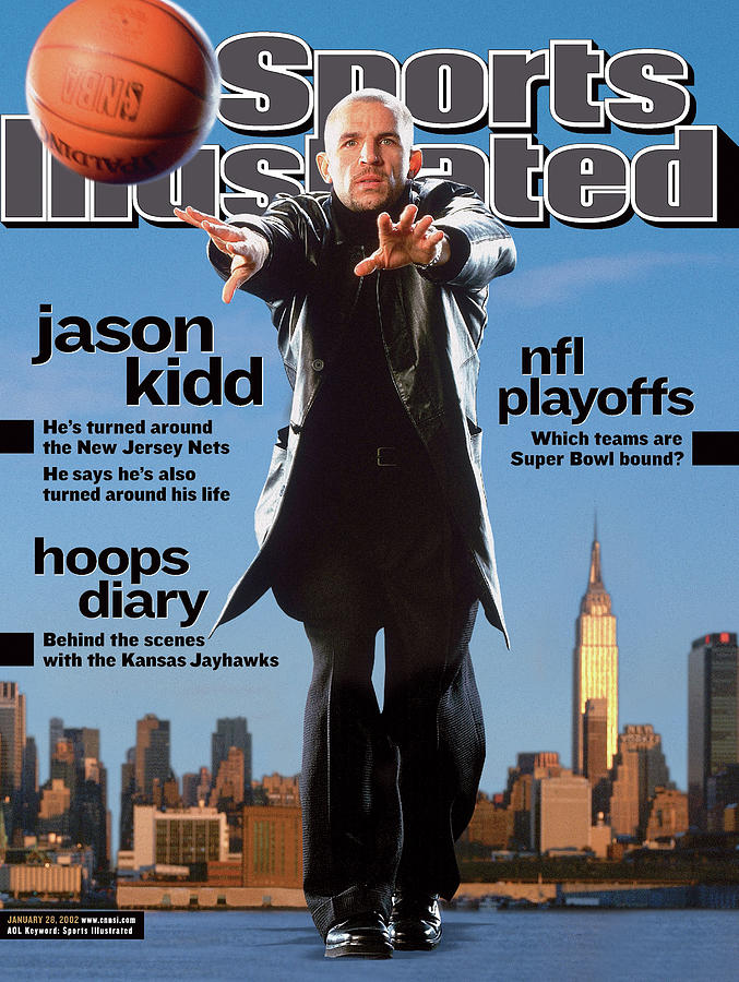 New Jersey Nets Jason Kidd Sports Illustrated Cover Photograph by Sports Illustrated