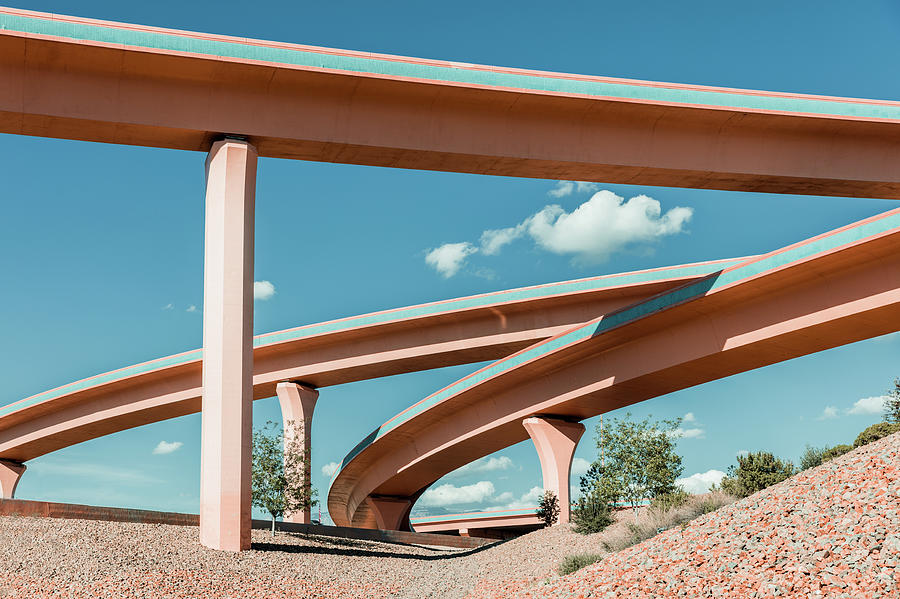 New Mexico Albuquerque Interstate Photograph by Mlenny