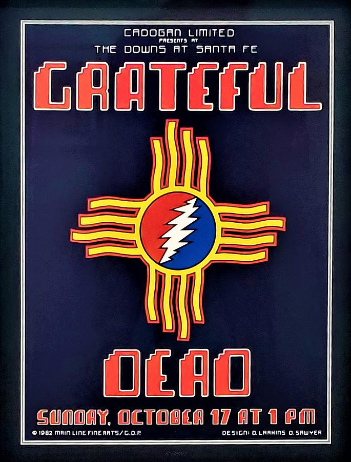 NEW MEXICO GREATFUL DEAD SHOW, by Rob Hans