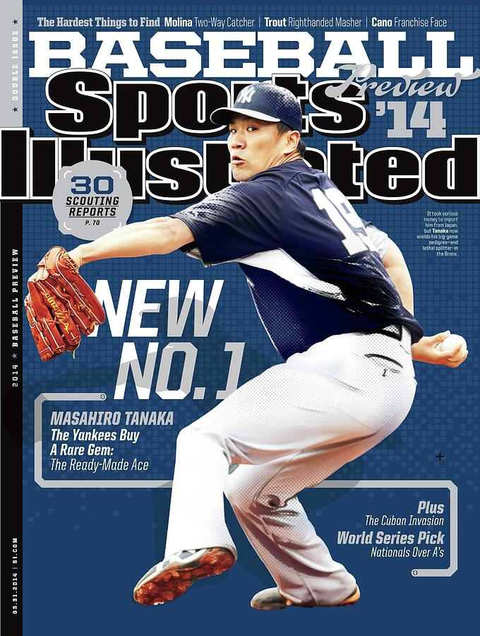 New No. 1 2014 Mlb Baseball Preview Issue Sports Illustrated Cover Photograph by Sports Illustrated