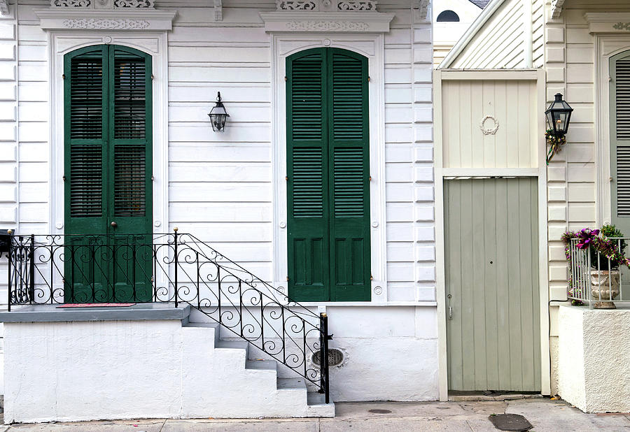 New Orleans French Quarter Home Photograph by Dlewis33