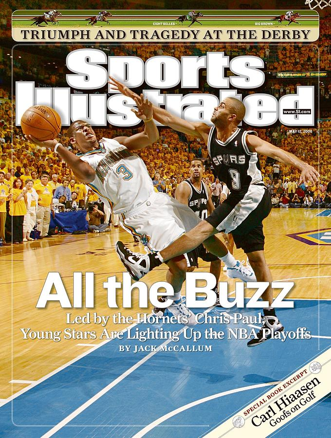 New Orleans Hornets Chris Paul, 2008 Nba Western Conference Sports Illustrated Cover Photograph by Sports Illustrated
