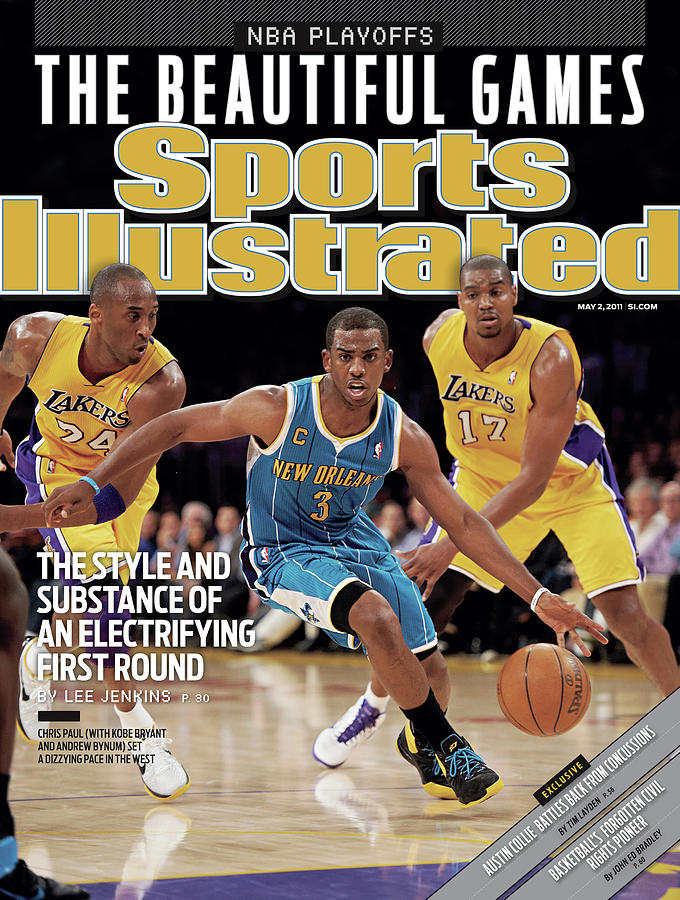 New Orleans Hornets Chris Paul, 2011 Nba Western Conference Sports Illustrated Cover Photograph by Sports Illustrated