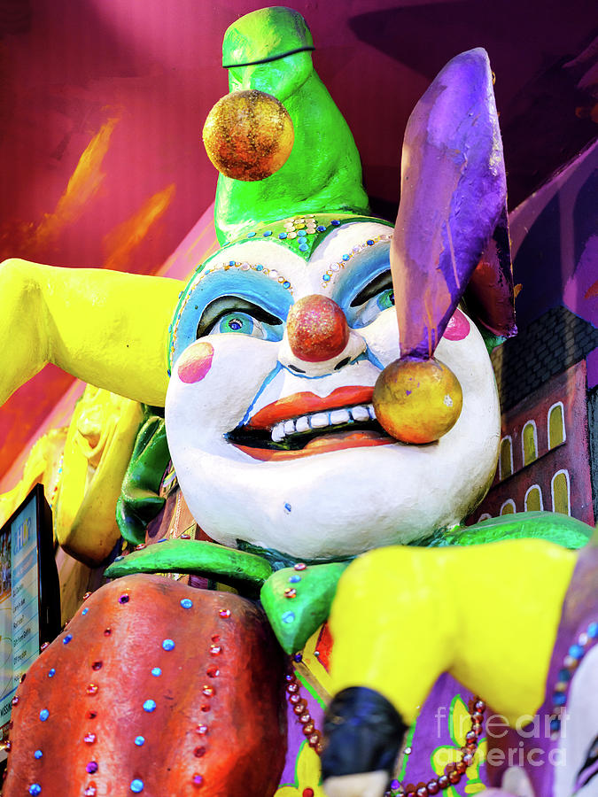 New Orleans Jester Colors by John Rizzuto