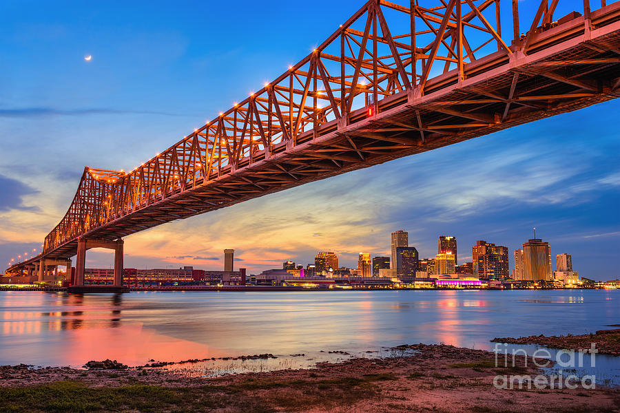Southern Photograph - New Orleans, Louisiana, Usa At Crescent by Sean Pavone
