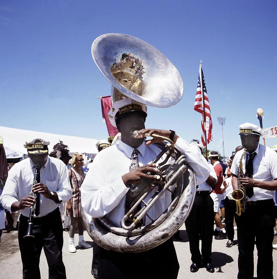New Orleans Marching Band Photograph by David Redfern