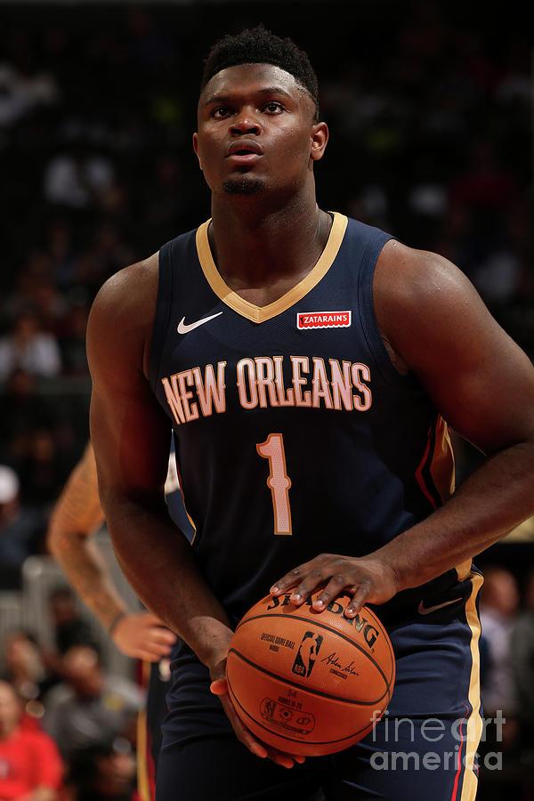 New Orleans Pelicans V Atlanta Hawks Photograph by Layne Murdoch Jr.
