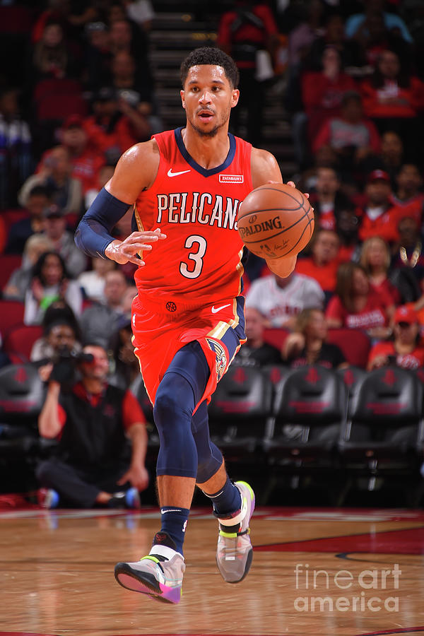 New Orleans Pelicans V Houston Rockets Photograph by Bill Baptist
