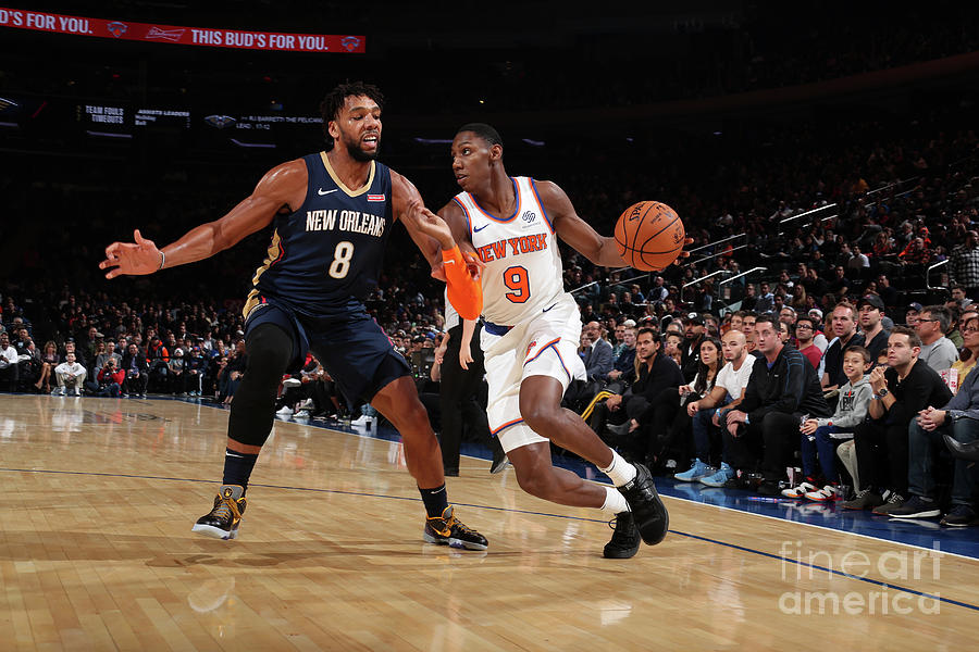 New Orleans Pelicans V New York Knicks Photograph by Nathaniel S. Butler
