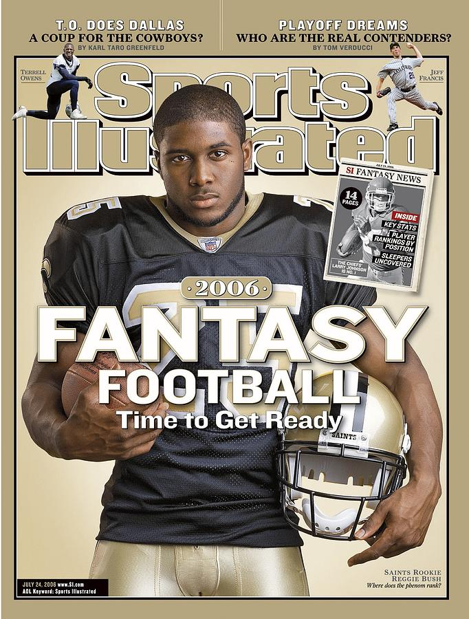New Orleans Saints Reggie Bush Sports Illustrated Cover Photograph by Sports Illustrated