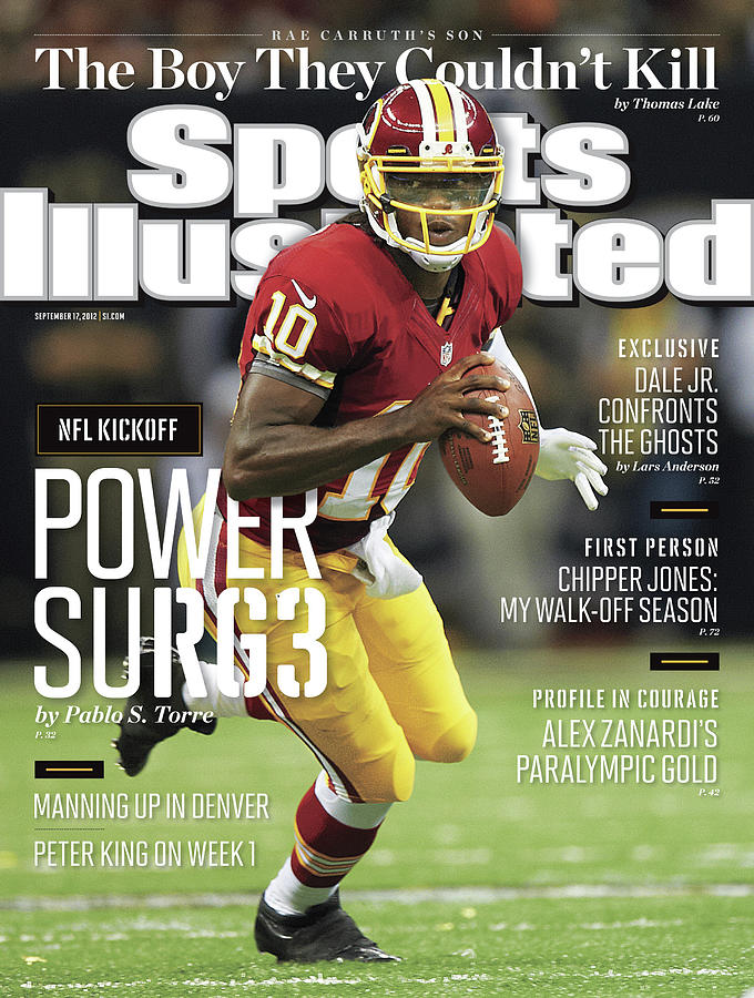 New Orleans Saints Vs Washington Redskins Sports Illustrated Cover Photograph by Sports Illustrated