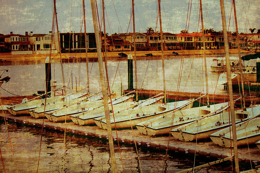Boat Photograph - New Port Beach by Alina Avanesian