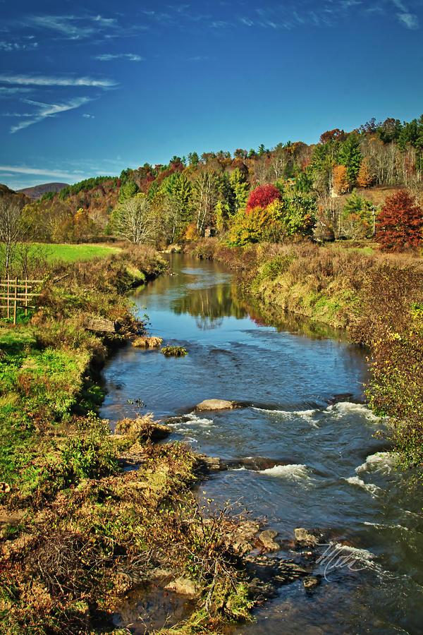 New River Fall by Meta Gatschenberger