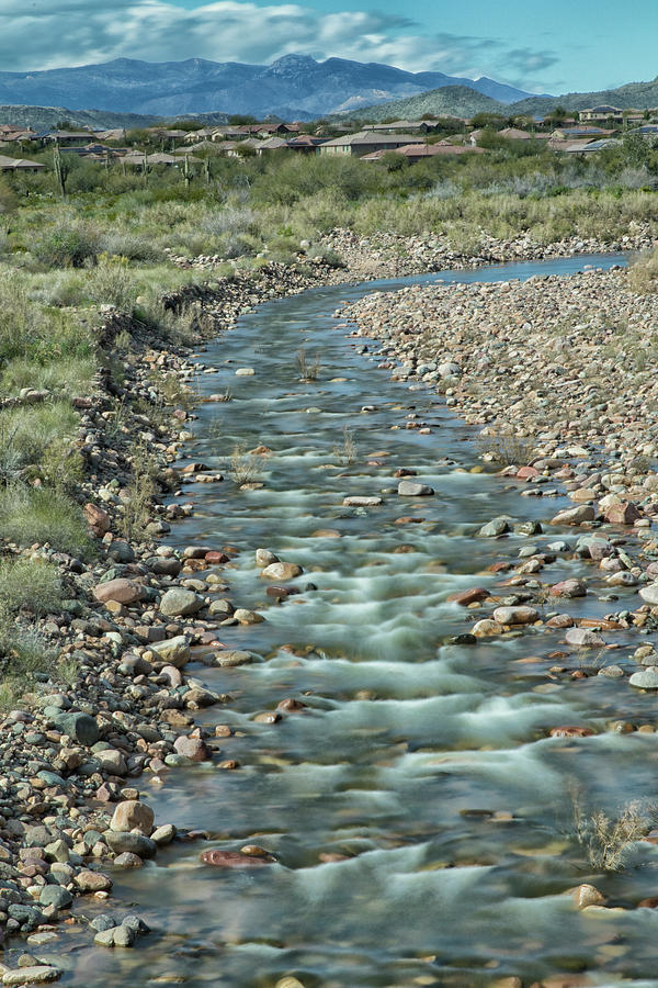 New River Flows by Tom Kelly
