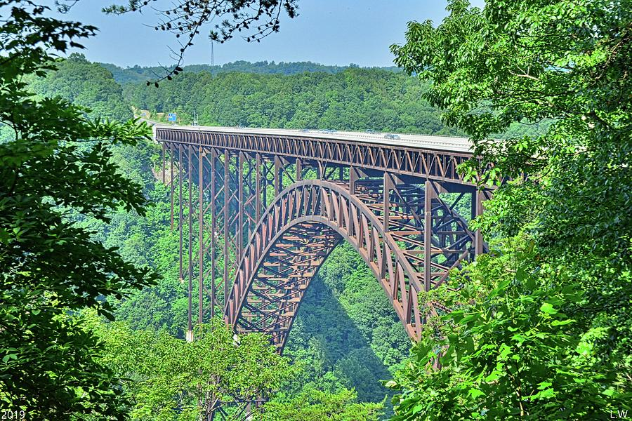 New River Gorge And Bridge West Virginia by Lisa Wooten