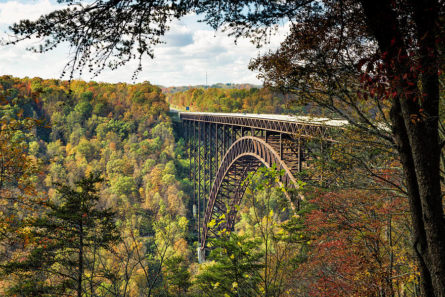 New River Gorge Bridge in Autumn by Fran Gallogly