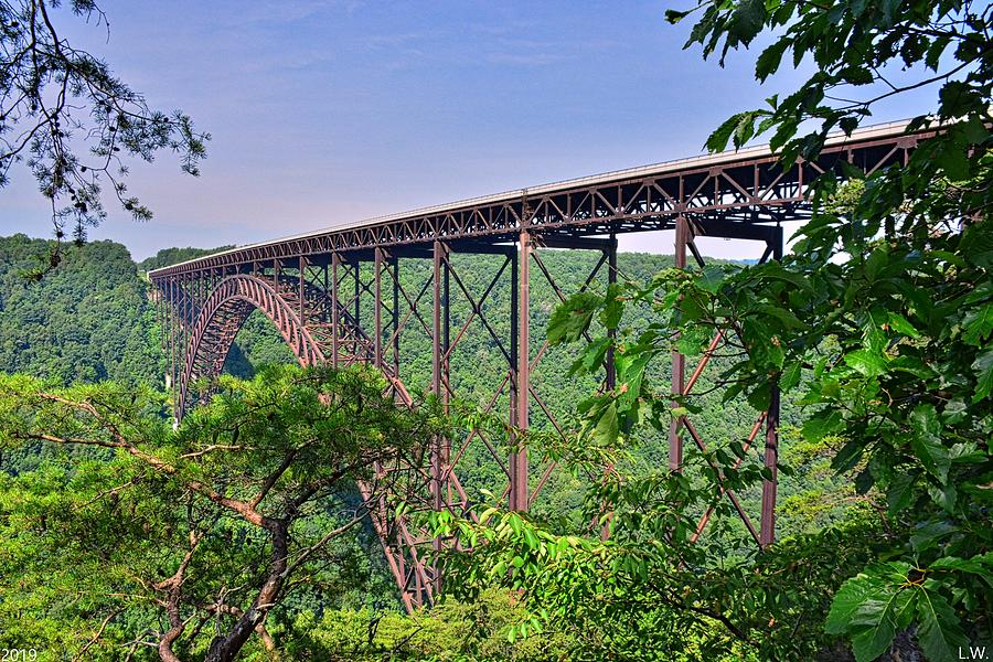New River Gorge Bridge West Virginia by Lisa Wooten