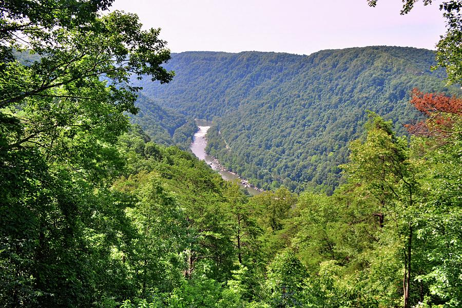 New River Gorge National River by Lisa Wooten