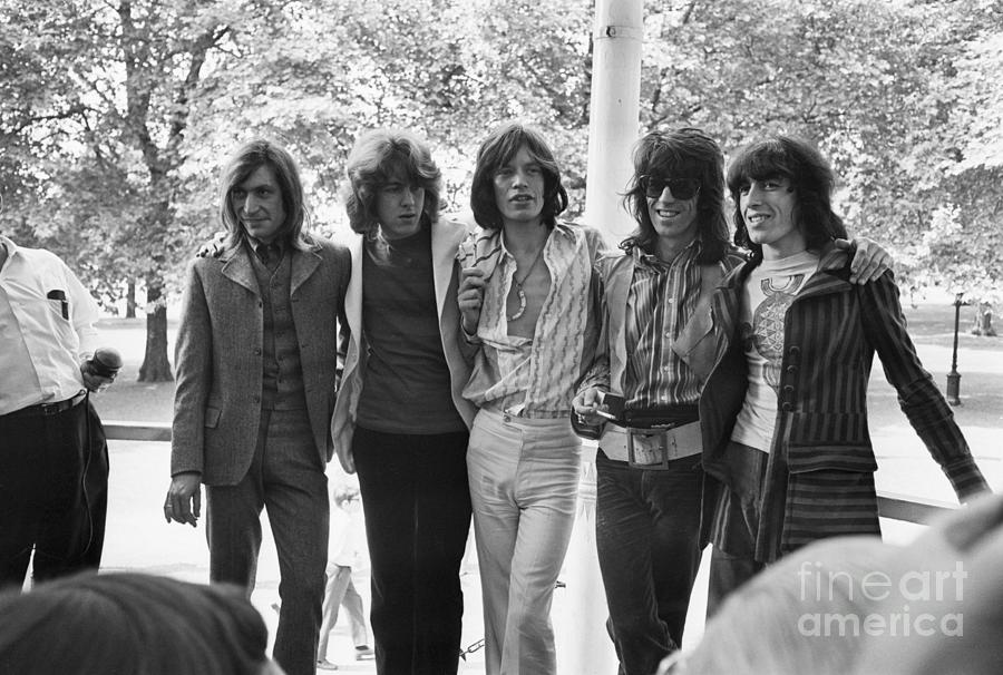 New Rolling Stones Line-up Photograph by Bettmann