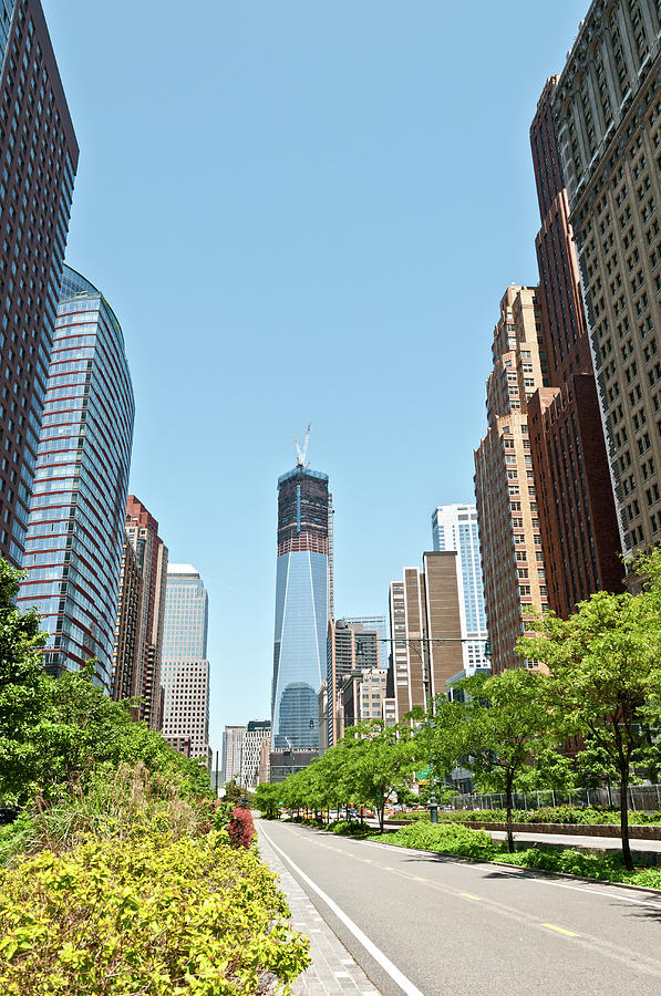 New Skyline Of Lower Manhattan With Photograph by Travelif