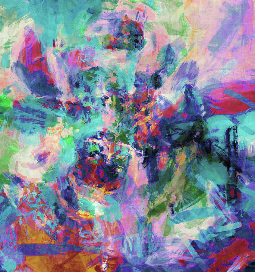 Abstract Digital Art - New Upload #1 by Grace Iradian