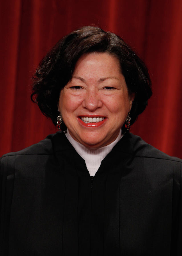 New U.s. Supreme Court Poses For Class Photograph by Chip Somodevilla