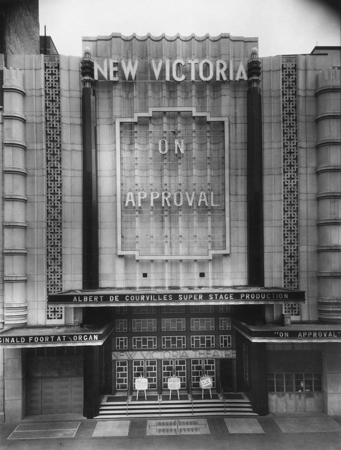 New Victoria Cinema Photograph by Sasha