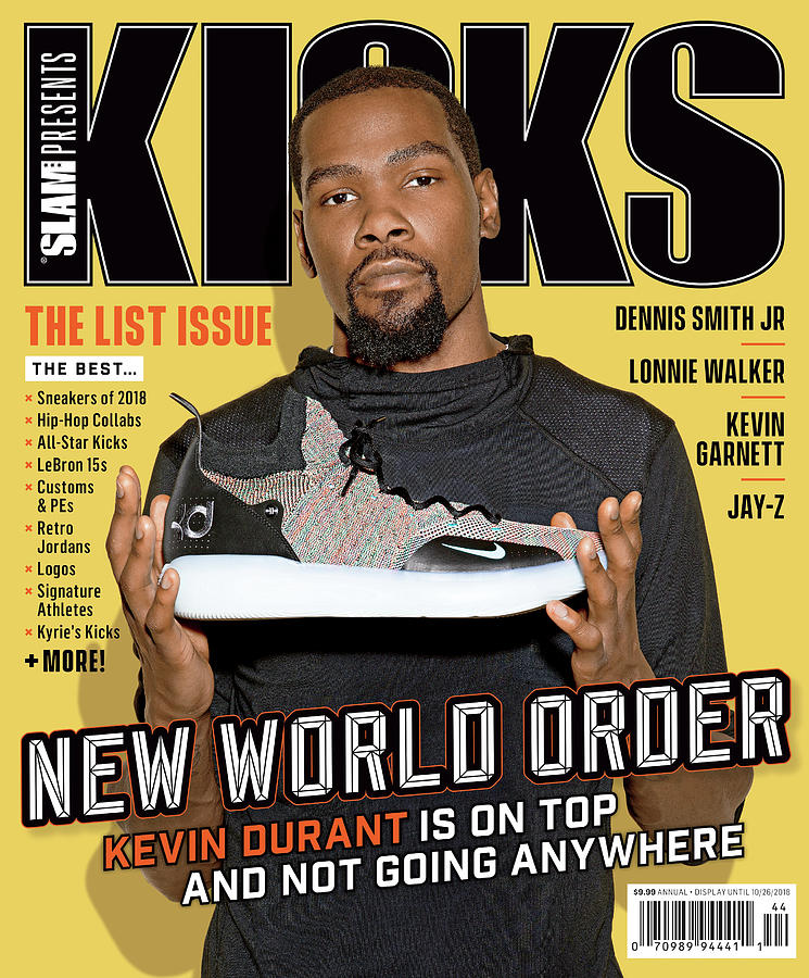 New World Order: Kevin Durant is on Top and Not Going Anywhere SLAM Cover Photograph by Atiba Jefferson