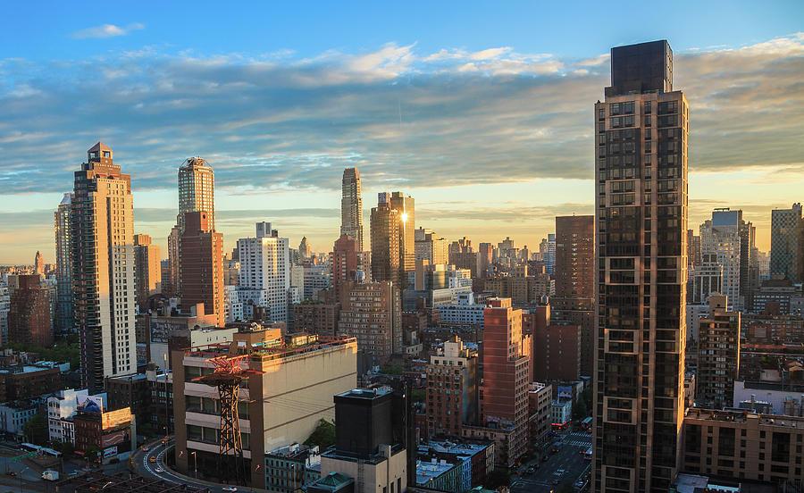 New York At Sunrise Photograph by M Bilton