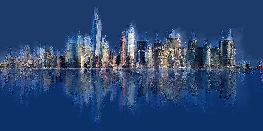 New York Blue by David Manlove